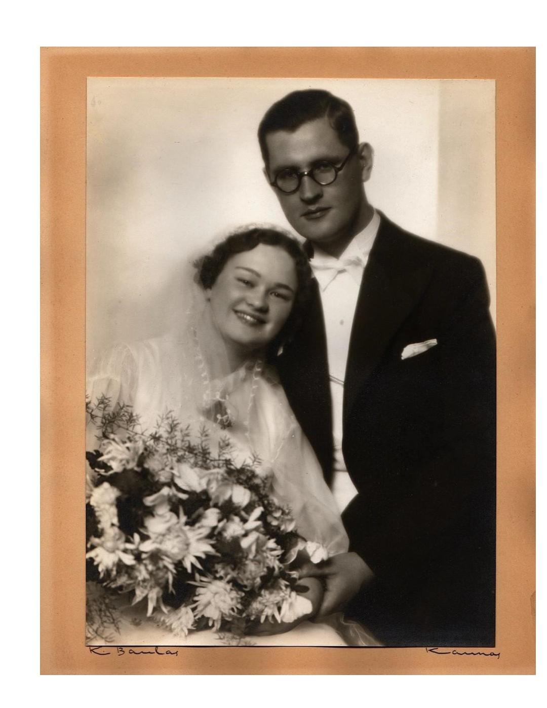 ANICETAS AND JANINA SIMUTIS 1936
