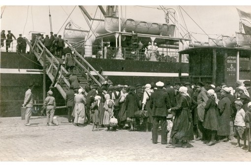 emigrants in Liepaja