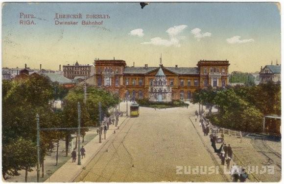 Riga Dvinsker Bahnhof