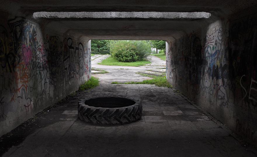 Tunnel by Evelina Simkute