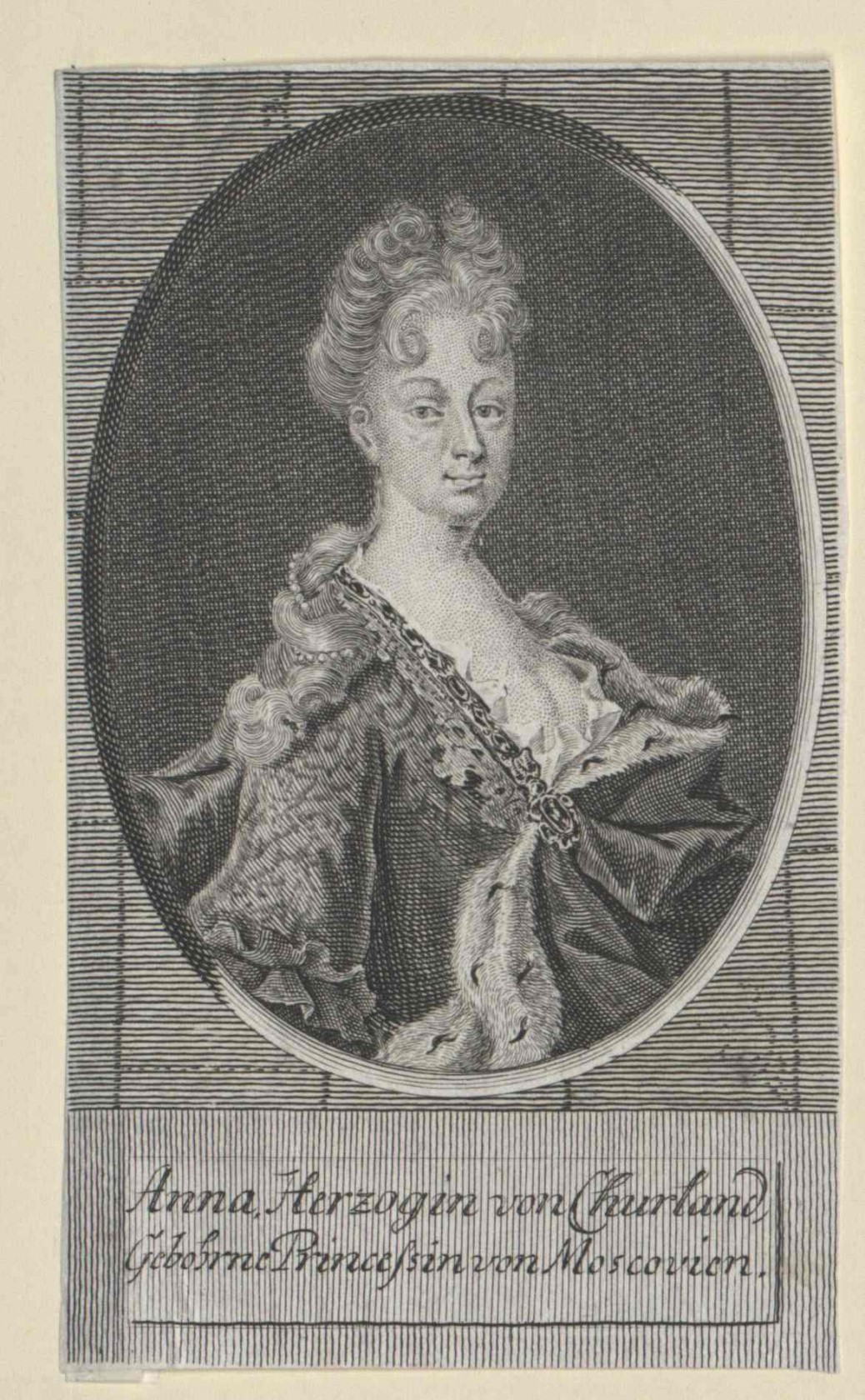 Anna Duchess of Courland