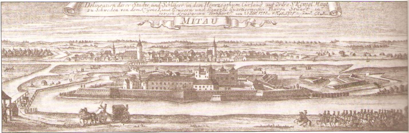 Mitau 18th century