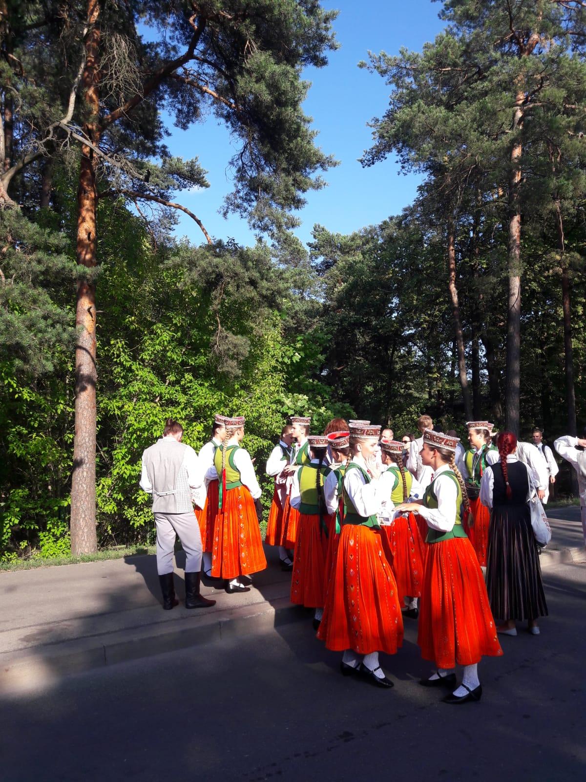 Singers at Mezaparks